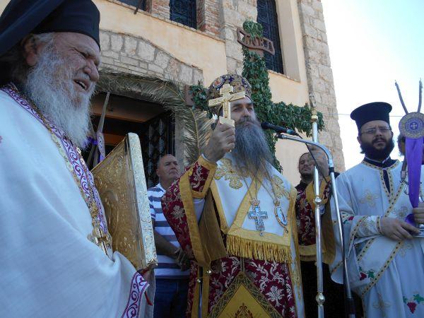 Αποτέλεσμα εικόνας για Η Κυπαρισσία γιόρτασε την Υψωση του Σταυρού