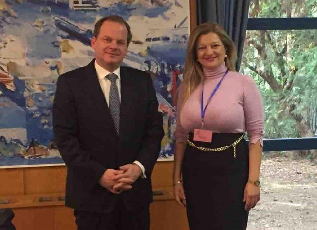 Συνάντηση ουσίας Αυγερινοπούλου με τον Υπουργό Υποδομών και Μεταφορών, κ. Καραμανλή, για Ολυμπία Οδό - PatrisNews - Εφημερίδα Πατρίς Ηλείας