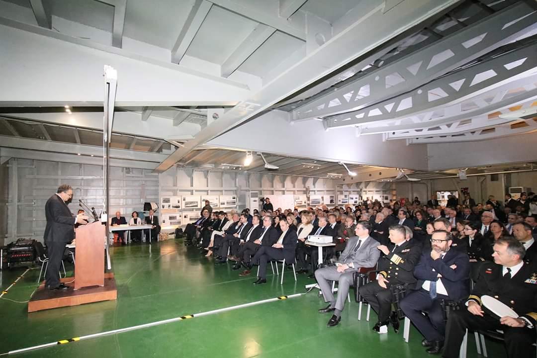 Ο Διονύσης Καλαματιανός στην ετήσια εκδήλωση του Ναυτικού Επιμελητηρίου Ελλάδος