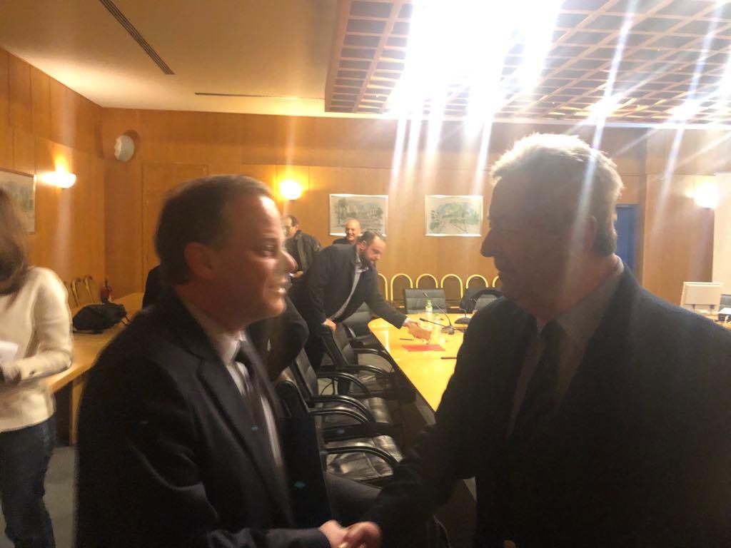 Επιμελητήριο Ηλείας: Τι ανέφερε ο Πρόεδρος Κώστας Νικολούτσος στη σύσκεψη με τον υπ. Υποδομών Κώστα Καραμανλή για τον δρόμο Πάτρα-Πύργος (photos)