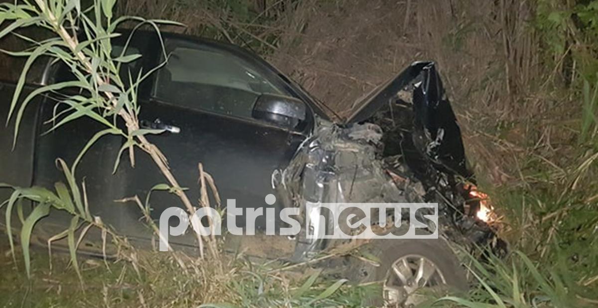 Πύργος: Σύγκρουση ΙΧ αγροτικού με τρακτέρ απόψε το βράδυ στη Μυρτιά – Τραυματίες ευτυχώς ελαφρά οι δύο οδηγοί