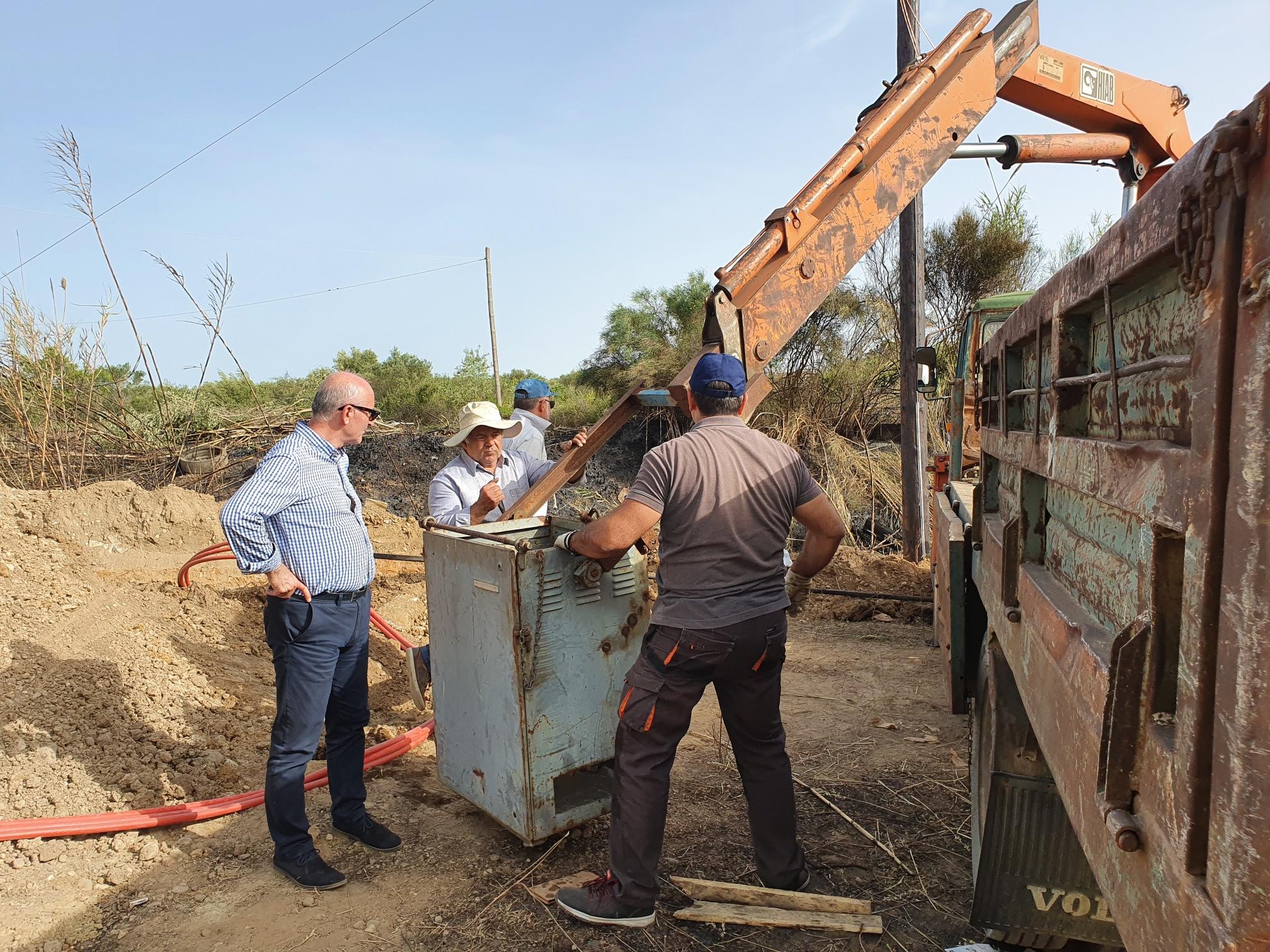 ΓΟΕΒ Πηνειού – Αλφειού: Μετά τις επισκευές στη ζημιά στον μετασχηματιστή άρχισε πάλι η άρδευση των καλλιεργειών από το αντλιοστάσιο Α13 στο Τραγανό!