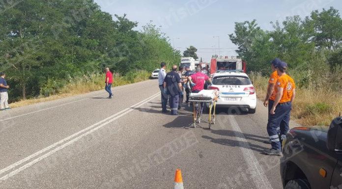 Ηλεία: ΙΧ έπεσε σε γκρεμό κοντά στα Δουναίικα – Άγιο είχε η οδηγός