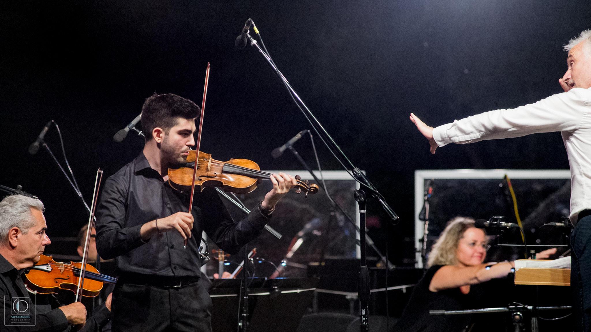 Διεθνές Φεστιβάλ Τεχνών Αρχαίας Ολυμπίας: Συνεπήρε το κοινό η Κρατική Ορχήστρα Αθηνών (photos)