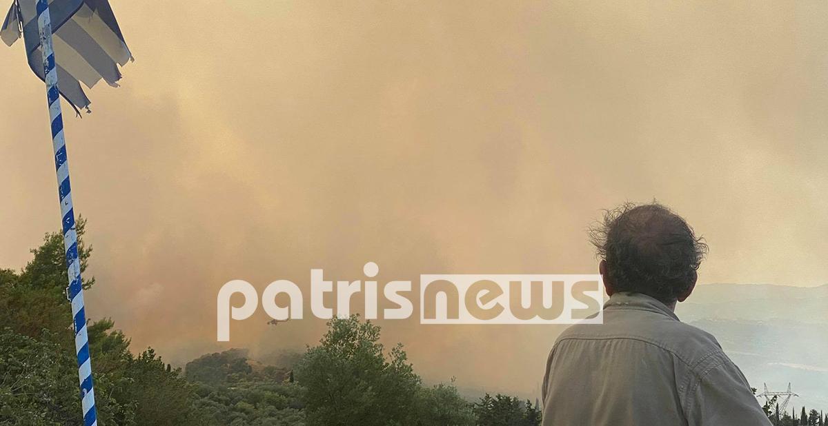 Μνήμες του 2007 ξυπνούν στην Ηλεία – Εικόνες από την μεγάλη φωτιά