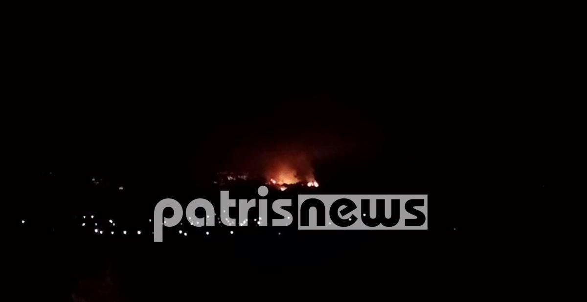 Σε πύρινο κλοιό χωριά της Ολυμπίας: Ολονύχτια μάχη με τις φλόγες – Στην φωτιά ο ΓΓ Πολιτικής Προστασίας (PHOTOS & VIDEOS)