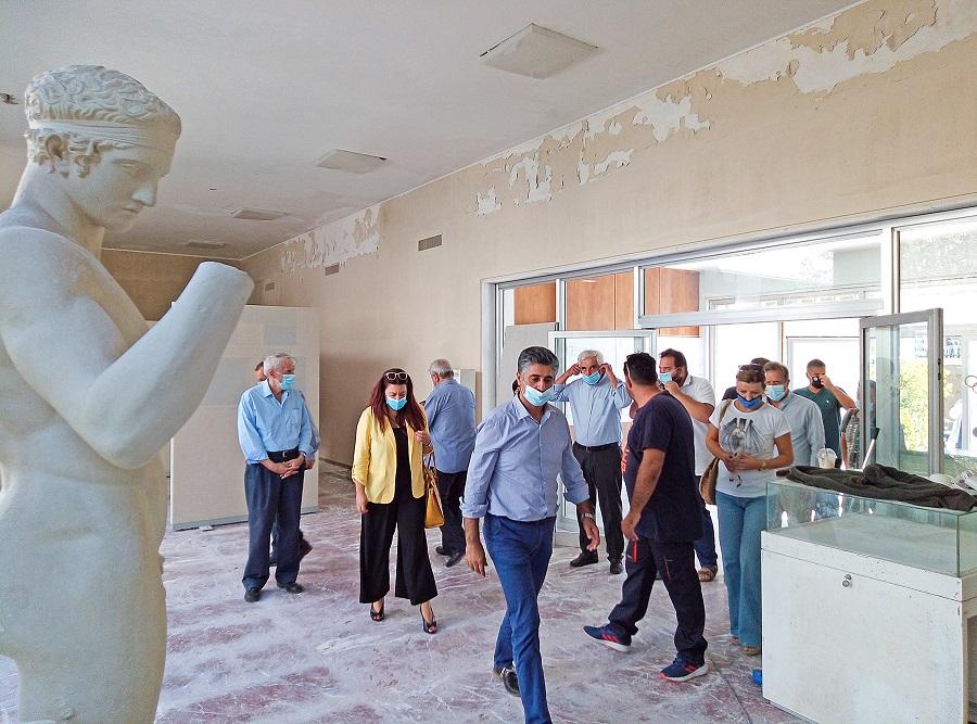Αρχαία Ολυμπία: Άρχισαν τα έργα στο Μουσείο Σύγχρονων Ολυμπιακών Αγώνων - PatrisNews - Εφημερίδα Πατρίς Ηλείας