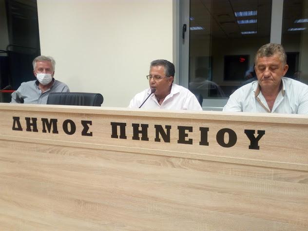 Δήμος Πηνειού: Σε επιφυλακή για τον Ιανό- Συνεδρίασε χθες βράδυ το Σ.Τ.Ο. του Δήμου