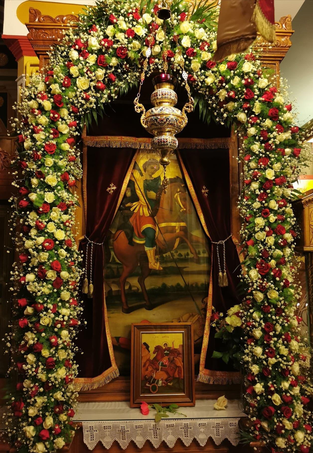 Ο Ήρωας της Χριστιανικής πίστεως Άγιος Δημήτριος, εορτάστηκε στον Άγιο Ιωάννη Πύργου