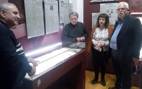 Χρήστος Χριστοδουλόπουλος: Αποχαιρετιστήριο στο Νίκο Μπελογιάννη