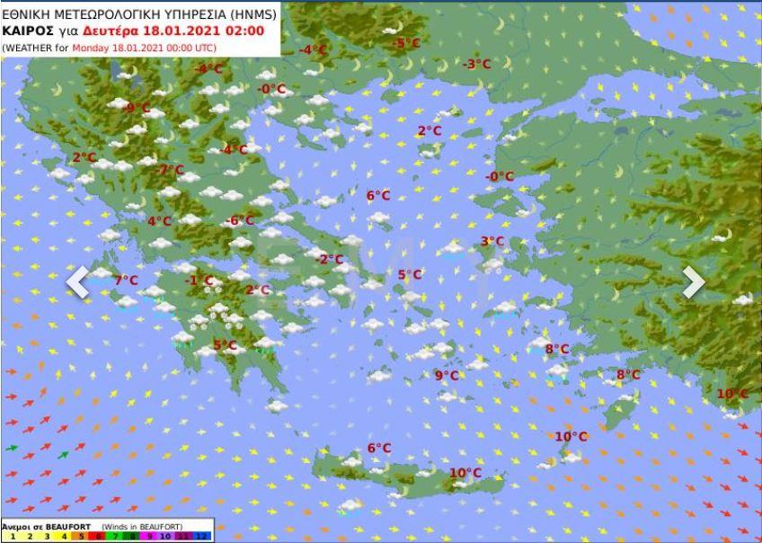 Κακοκαιρία «Λέανδρος»: Συναγερμός στην Πολιτική Προστασία ενόψει της επιδείνωσης -Προσοχή σε Αττική, Κρήτη και Πελοπόννησο