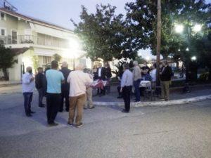 Δήμος Πηνειού: Ο δήμαρχος Ανδρέας Μαρίνος ενημέρωσε τους κατοίκους της ΤΚ Παλαιοχωρίου