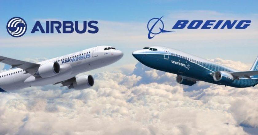 ΓΡΑΦΗΜΑ ΑΕΡΟΣΚΑΦΟΙ BOEING VS AIRBUS