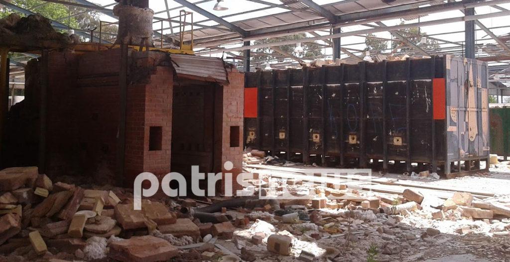 εγκαταλελειμμένο εργοστάσιο