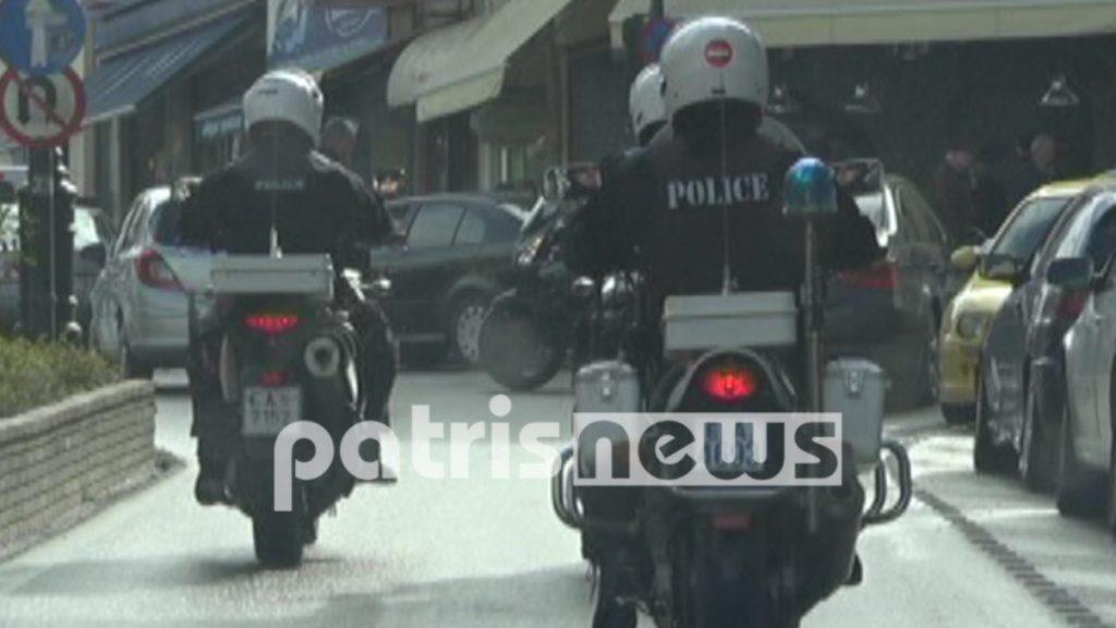 μηχανές της αστυνομίας