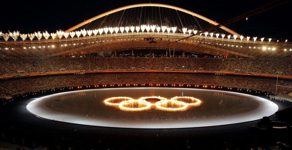 τελετή έναρξης Ολυμπιακών Αγώνων