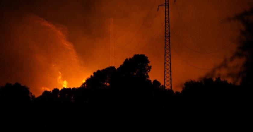 πυρκαγιές στη Σαρδηνία