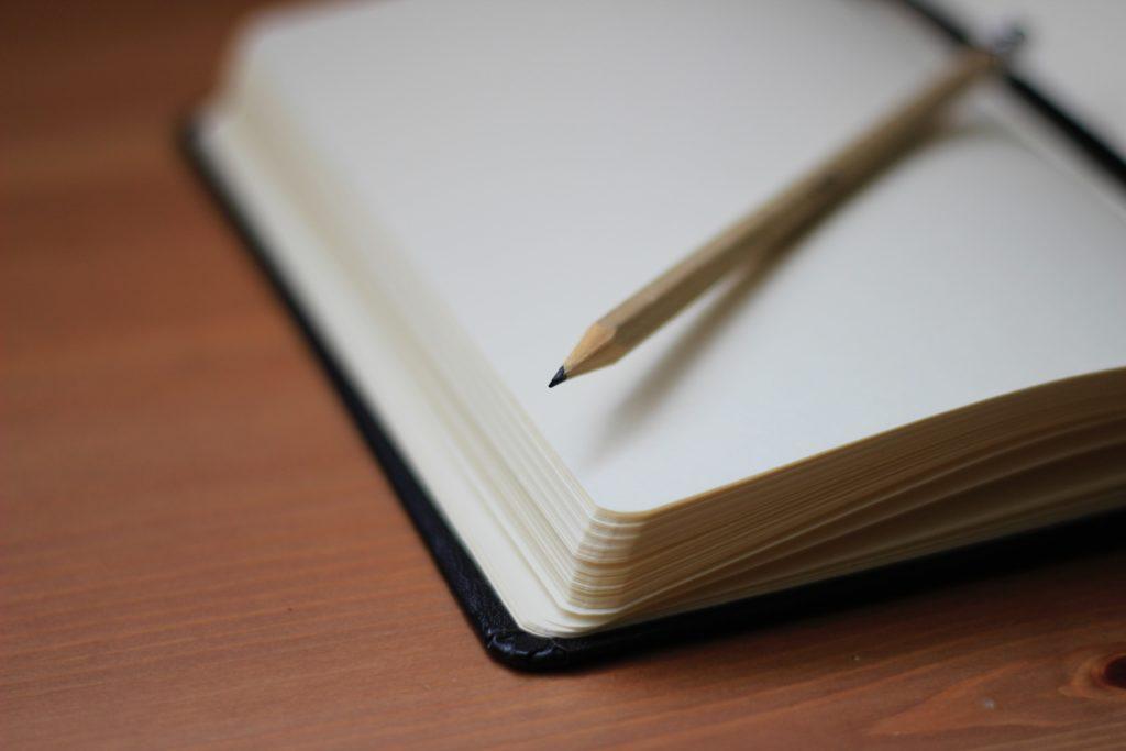 τετράδιο και στυλό