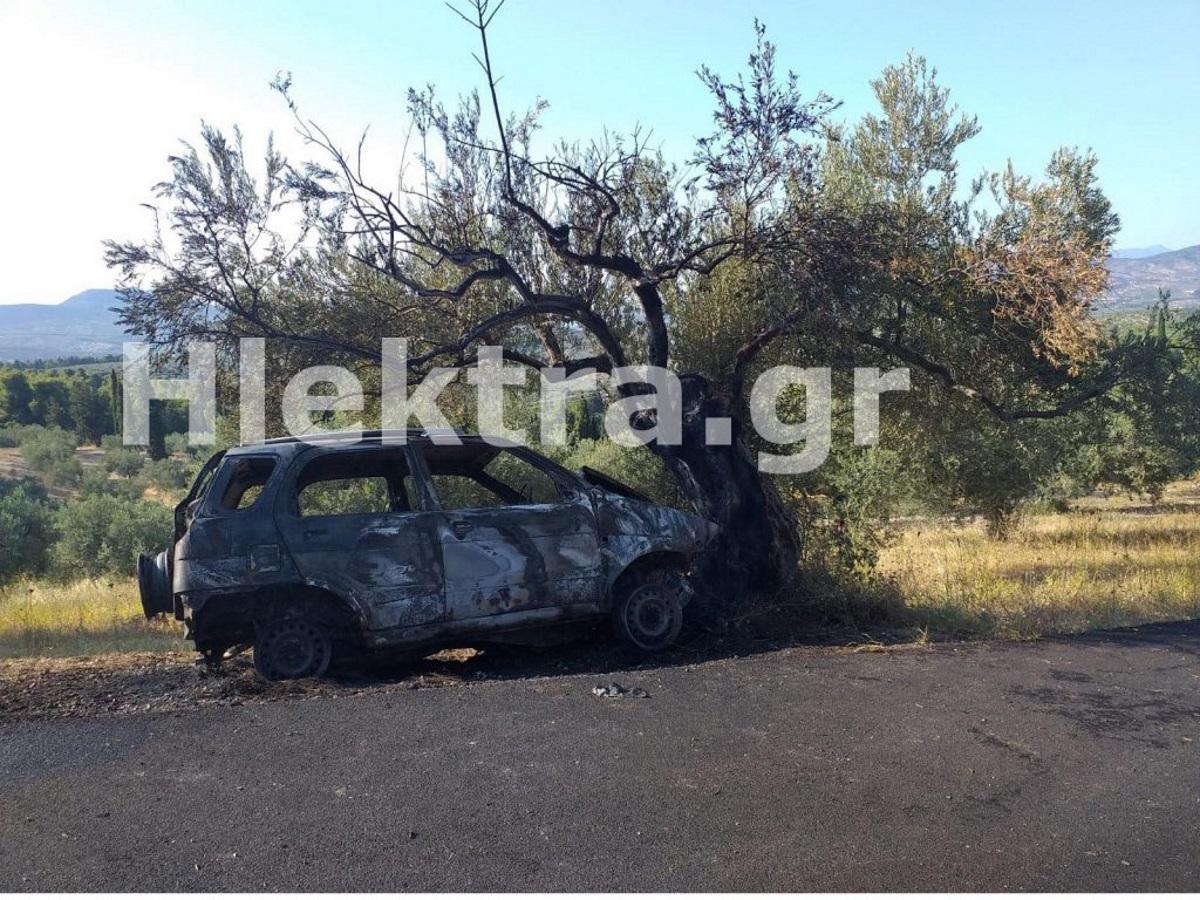 Φωτιά σε ΙΧ στη Κόρινθο: Ο ιερέας της Αλμυρής ο οδηγός που απανθρακώθηκε στο καμένο όχημα