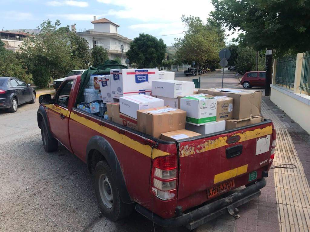 Δήμος Ζαχάρως: Βοήθεια για τους πυρόπληκτους Ηλείας και Γορτυνίας