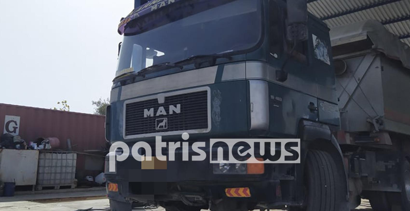 Σοβαρό τροχαίο στον Πύργο: Οδηγός μηχανής βρέθηκε κάτω από τις ρόδες νταλίκας