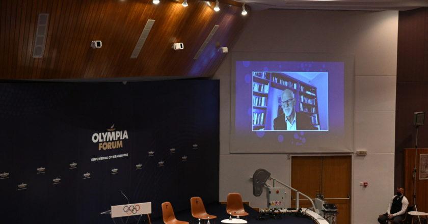 Ο Γιώργος Παπανδρέου στο Olympia Forum